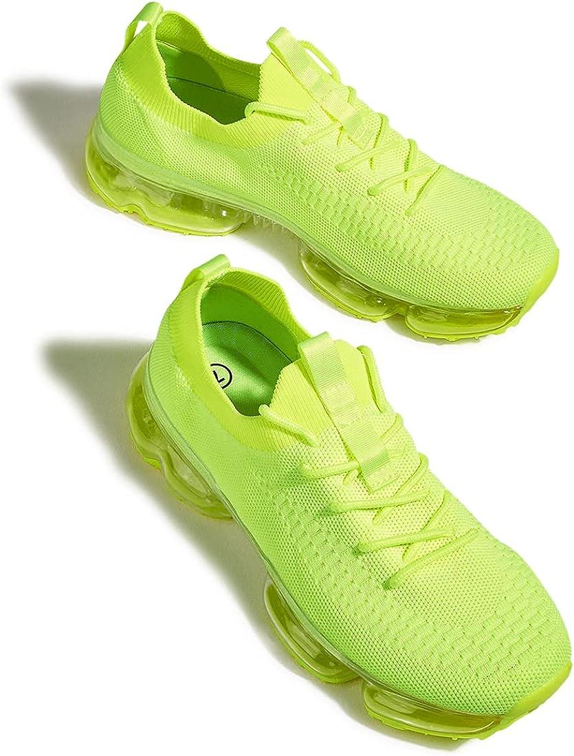 LUCKY STEP Women Air Cushion Tennis Sports Sneakers - Lightweigh