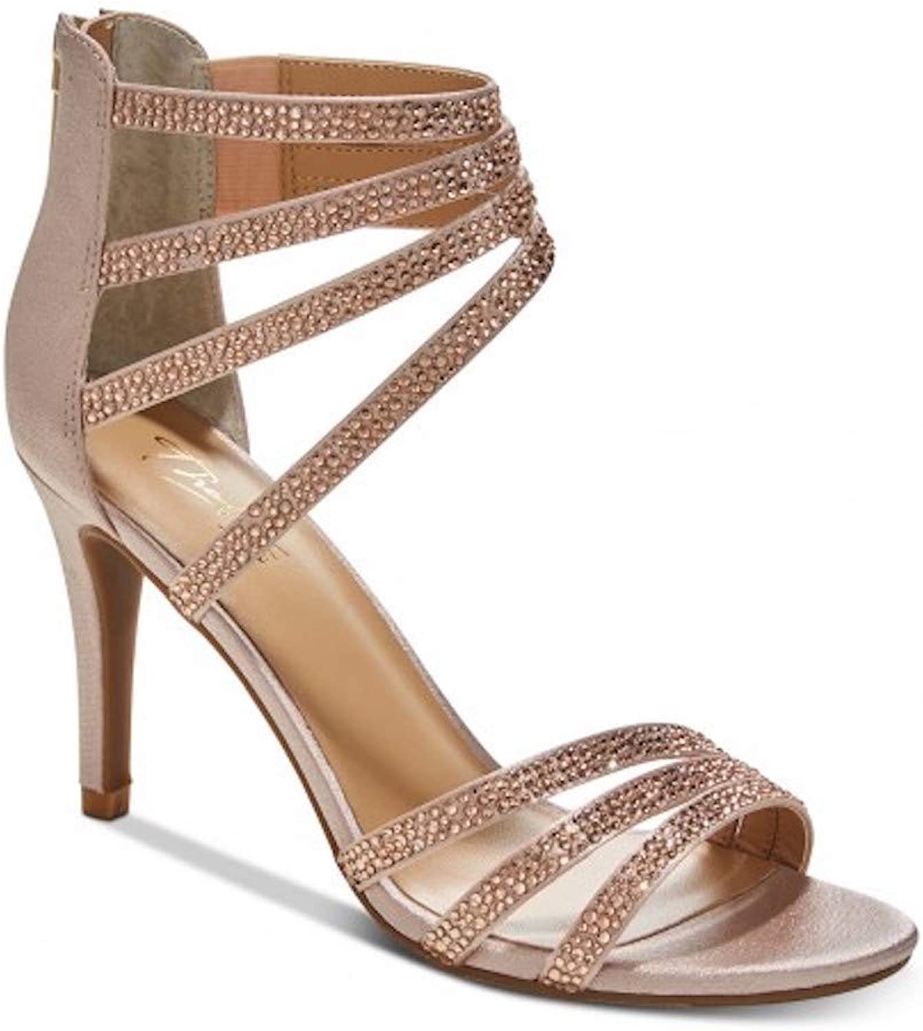 Thalia Sodi Womens Karlee2 Fabric Open Toe Casual Strappy Sandals