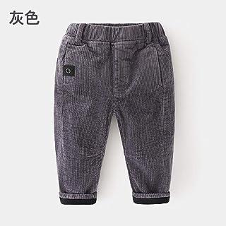HOSD2019 Invierno Nuevo niño Ropa Infantil Engrosamiento Infantil más Pantalones de Pana de Terciopelo