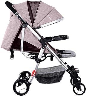 BABY PLUS BP8290 Baby Stroller and Pram, 0-36 Months - Khaki BP8290-KHAKI