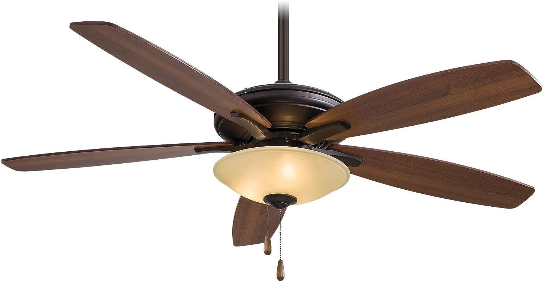 Minka-Aire F522-ORB TS, Mojo,  52  Ceiling Fan with Light,  Oil-Rubbed Bronze