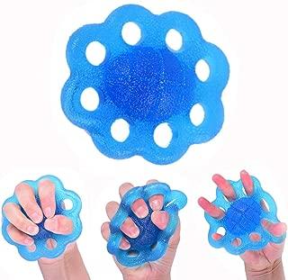 Bek/ämpfen von Stress oder Festigung des Griffs 3 Widerst/ände Stressb/älle f/ür die Handtherapie mit Tragetasche voidbiov zum Trainieren von Fingern mit Arthritis 2 Gr/ö/ßen