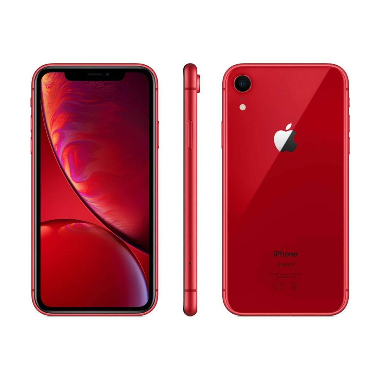 Apple iPhone XR, 128GB, Red - For Verizon (Renewed)