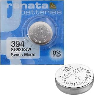 2x Batterie Montre Renata poignet-Fabriqué en Suisse-Sans Piles oxyde d'argent 0% Mercure Renata Pile bouton 1,55V p...