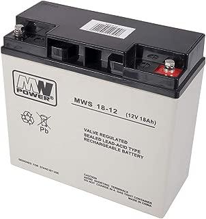 Batería de Gel MW 18-12S 12V / 18Ah
