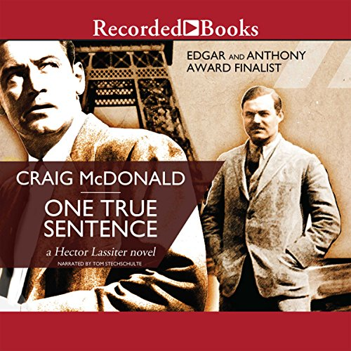 One True Sentence audiobook cover art