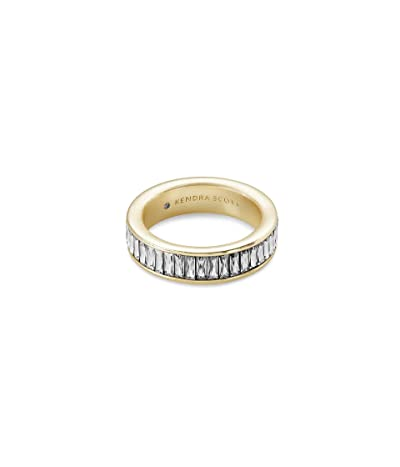 Kendra Scott Jack Band Ring (Gold Clear Crystal) Ring