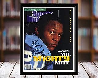 Barry Sanders Sports Illustrated Autograph Replica Print - Mr Mighty Mite - 9/10/90-8x10 Desktop Framed Print