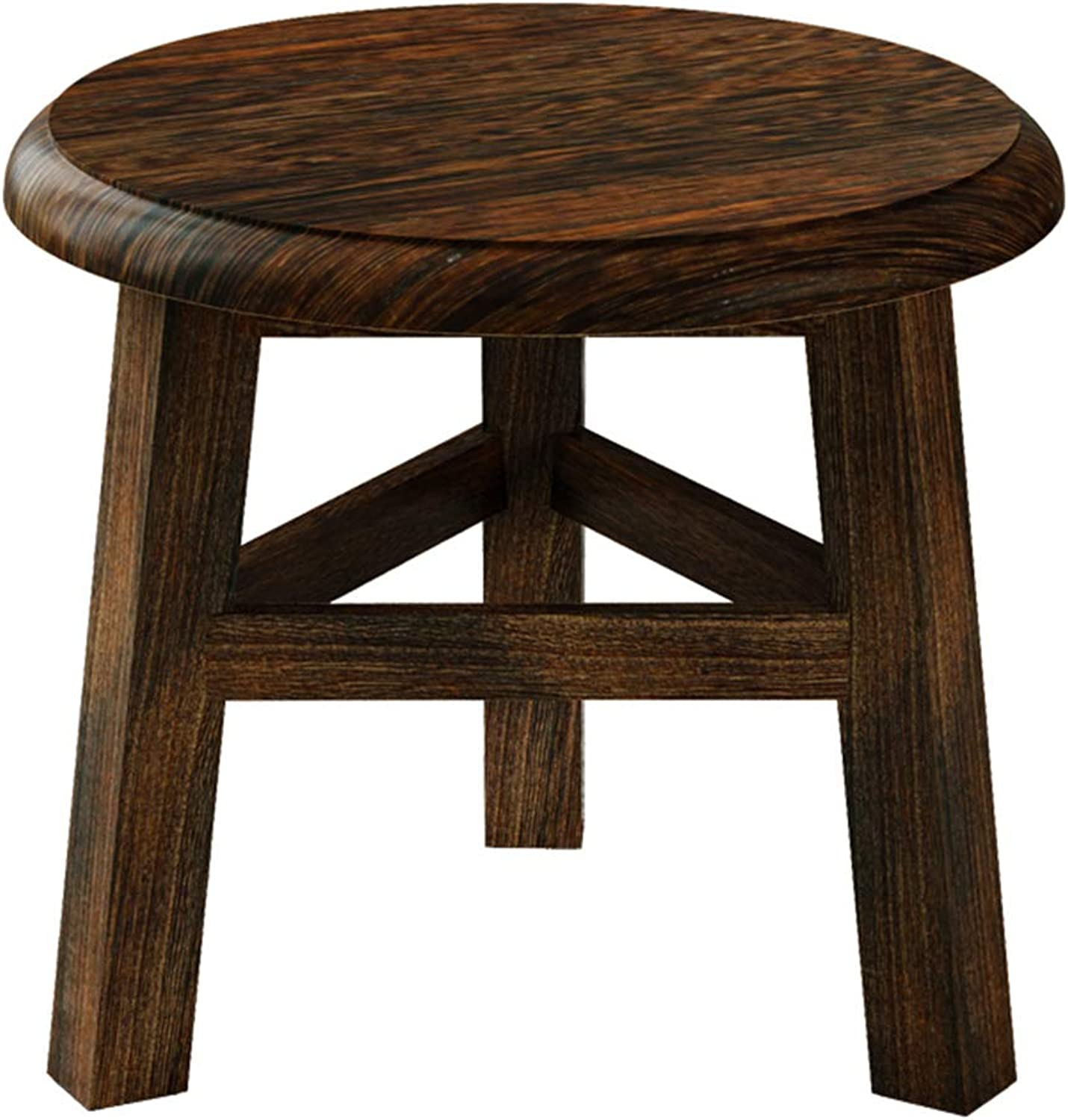 Stool  sofa, household solid wood coffee table, living room round