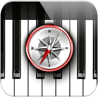 Piano Chords Compass - learn the chord notes & play