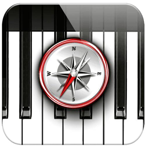 Piano Chords Compass / Die Akkorde für das Klavier