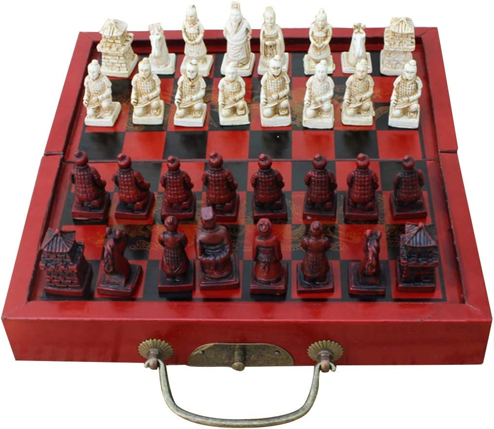 LQW HOME Chess Small Genuine Free Shipping Size Folding Antique Chinese Board Max 68% OFF Ga