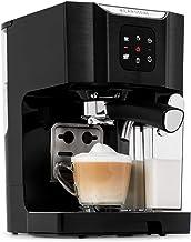 Klarstein BellaVita Coffee Machine with Self-Cleaning System, 3-in-1 Function for Espresso, Cappuccino and Latte Macchiato...