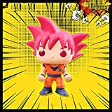 HUIYIN Regalo De Cumpleaños De Dragon Ball Goku Trunks Climbuo Principal Grande De La Muñeca De La Mano Do Red Super Race God Goku