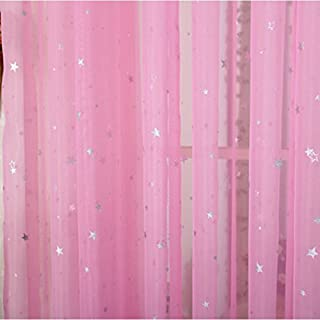 Best sheer curtains pink Reviews
