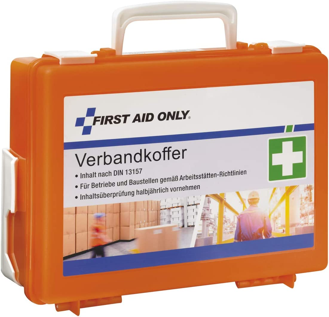 First Aid Only Botiquín de vendajes first aid only con asidero 1160 g
