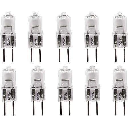 5Pcs 24V G5.3 35W 50W Basis Halogen Glühbirnen Licht Lampe QY