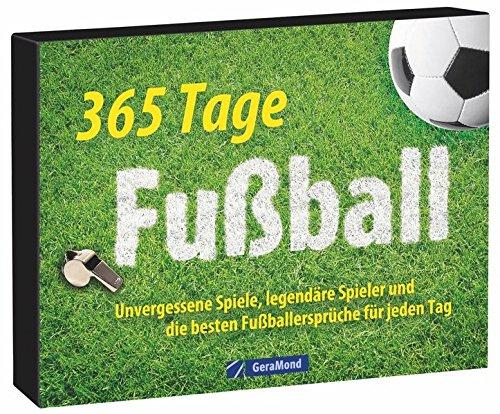 Tischkalender Fußball: Ein immerwährender Kalender mit unvergessenen Spielen, legendären Spielern und den besten Fußballsprüchen. 365 Tage Fußball - das perfekte Geschenk für jeden Fußballfan.