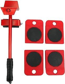 Zware meubelheffertransportgereedschappen met 4-pack schuifregelaars voor gemakkelijk en veilig verplaatsen Werkbesparend ...