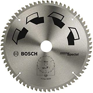 Bosch DIY Kreissägeblatt Special für verschiedene Materialien (Ø 235 mm, 64 Zähne)