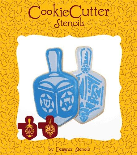 Jewish Dreidel Cookie Stencil Set (no cutter) by Designer Stencils
