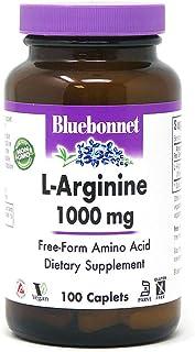 Bluebonnet L-Arginine 1000 Mg Vitamin Capsules, 100Count