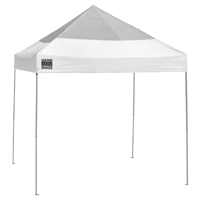 Quik Shade Aero Shade Mesh 10'x10' Instant Canopy with Rain Cover - White