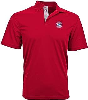 Bayern Munich - Red Polo Shirt (Large)