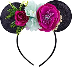 wire floral mickey ears