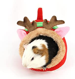 S-LINE Small Animals Bed Hamster Cave Cage Accessories, Warm Pet Nest for Hedgehog Dwarf Mouse Rabbit Totoro Guinea Pigs Squirrels