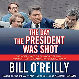 The Day the President Was Shot audiobook cover art