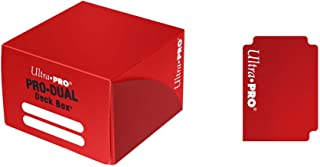 Ultra Pro Dual Deck Box, Standard, Red