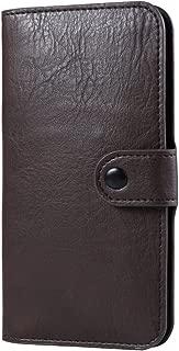 Premium PU Leather Executive Design Wallet Pouch Case for ZTE Axon 7, ZTE Blade V Plus, ZTE Grand X 3, BLU Studio M HD, BLU Neo 5.5, Neo XL, Life XL, BLU Studio 5.5 HD, Brown