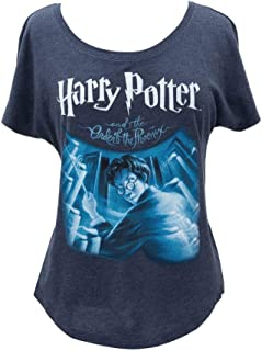 Out of Print Women's Literary and Book-Themed Dolman Sleeve Tee T-Shirt