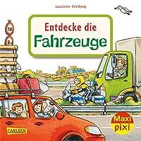 Maxi Pixi 344: VE 5: Entdecke die Fahrzeuge (5 Exemplare)