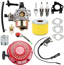 Wellsking 16100-ZE3-V01 Carburetor with 17210-ZE3-505 Air Filter for Honda GX390 GX 390 GX340 GX340U1 GX340R1 GX340K1 11HP Engine WT40XK1 WT40XK2 WT40XK3 Water Pump