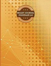Bullet Journal Pointillés A4: Bullet journal pointillés grand format A4 de 160 pages grille à points 5 mm, couverture soup...