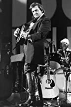 Johnny Cash on stage Photo Print (8 x 10)