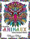 Coloration Animaux (Cahier Coloriage Mandala): Livre de coloriage magique pour adultes (oiseaux, chevaux, chats ...). Repos, détente, rêves, méditations.