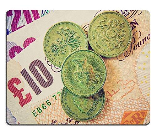 luxlady Caucho Natural Gaming Alfombrillas de detalle de aspecto vintage British libras...
