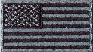 Patch Bordado - Bandeira Estados Unidos Eua Negativa BD50054-110 Termocolante Para Aplicar