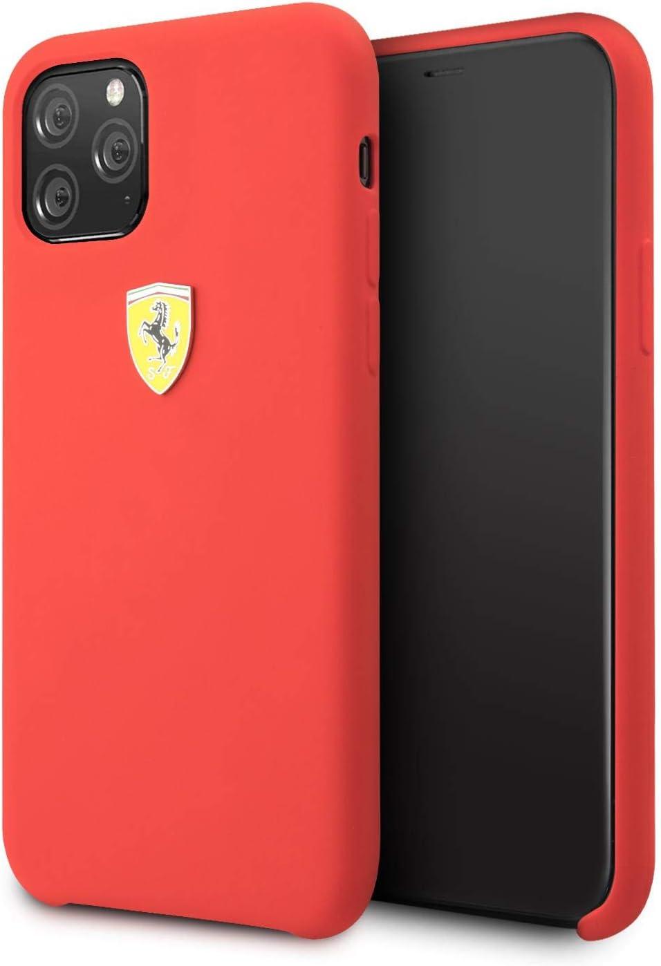 Ferrari Handyhülle Für Iphone 11 Pro Max Silikon Hülle Amazon De Elektronik