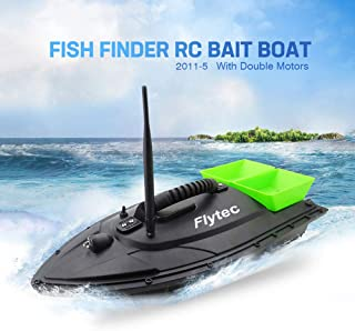 GONGting Remote Control Fishing Bait Boat-Fish Finder 1.5kg Loading 500m Fishing Tool Smart RC Boat Toy Wireless Smart Fishing