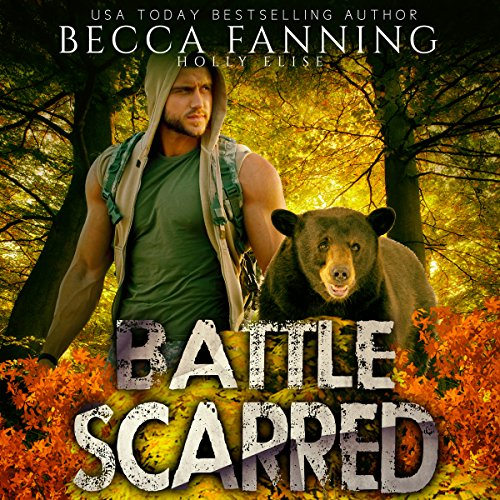 Battle Scarred (BBW Veteran Bear Shifter Romance) audiobook cover art