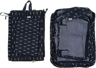 Prettyia 7pcs Clothing Underwear Shoes Bras Packing Cube Storage Luggage Organizer Bag