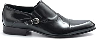 EVEET - Black Patent Leather Eveet Monk Strap Shoes - 15028SAFY Nero