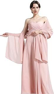 Damenschal aus Chiffon, für Brautjungfern Hochzeit Party Abendkleid
