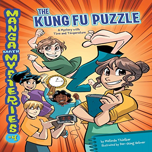 #4 The Kung Fu Puzzle audiobook cover art