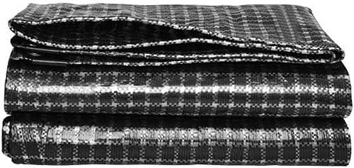 Bache De Prougeection Imperméable, Bache imperméable Robuste  Couverture de remorque de Tente de Sol  Grande bache en Plusieurs Tailles ZHANGQIANG (Couleur   A, Taille   4x8m)