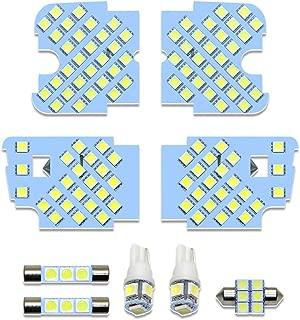 CX-5 LED ルームランプ アテンザ 室内灯 ホワイト 純正交換 マツダ CX-5 KE系 アテンザGJ 専用設計 爆光 車用 カスタムパーツ LEDバルブ 取付簡単 一年保証 9点セット (マツダ CX-5/アテンザ 用)